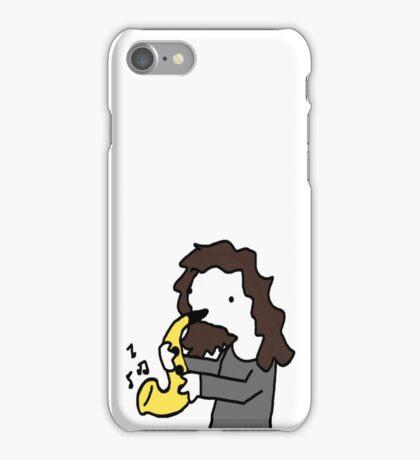 jehn weh plein te secksiphun iPhone Case/Skin
