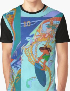 Hang Ten Over Boney Reefs Graphic T-Shirt
