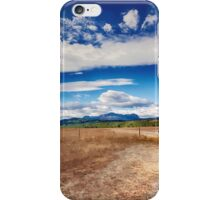 Edge of Glacier National Park, Montana _ American Cutouts iPhone Case/Skin