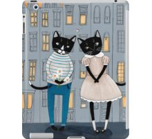 Cats First Date iPad Case/Skin