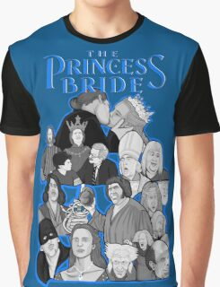 the Princess Bride character collage Graphic T-Shirt