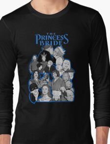the Princess Bride character collage Long Sleeve T-Shirt