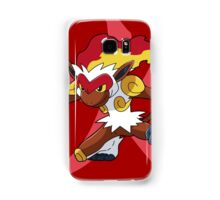 Infernape With Fire Kanji Samsung Galaxy Case/Skin
