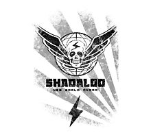 Shadaloo-New World Order Photographic Print