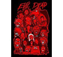 Evil Dead collage art Photographic Print