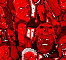 Evil Dead collage art Sticker