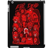 Evil Dead collage art iPad Case/Skin