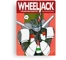 Wheeljack - The Revived Scientist Canvas Print
