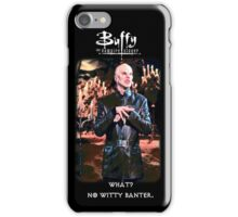 witty banter iPhone Case/Skin