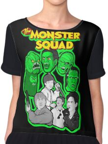 the Monster Squad Chiffon Top
