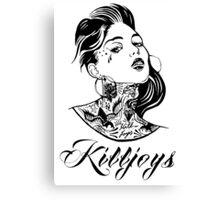 Killjoys.co KillerLooks Classic Shirt Canvas Print