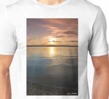 Sunset Over Puget Sound Unisex T-Shirt