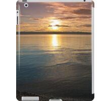 Sunset Over Puget Sound iPad Case/Skin