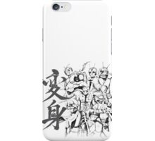 10 Riders iPhone Case/Skin