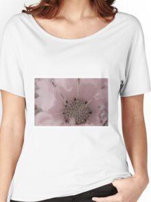 Cosmo Stamen Macro Women's Relaxed Fit T-Shirt