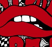 Rocky Horror Picture Show Zentangle Sticker