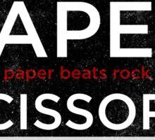 Rock, Paper, Scissors, Hockey Sticker