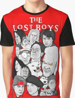Lost Boys Collage Graphic T-Shirt