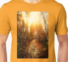 Red Forest, Washington in November Unisex T-Shirt
