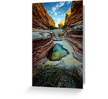 Ernst Canyon, Big Bend, Texas Greeting Card