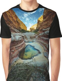 Ernst Canyon, Big Bend, Texas Graphic T-Shirt