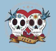 Love Skulls Kids Tee