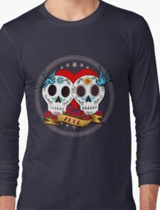 Love Skulls Long Sleeve T-Shirt