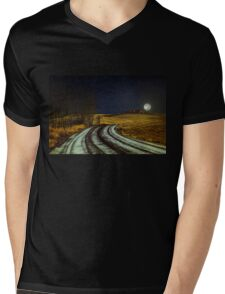 Somewhere, somebody out there is thinking of you Mens V-Neck T-Shirt