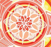 Mandala Warm 2 Sticker