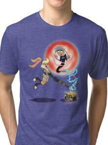 Slam Dunk Ghost Buster Tri-blend T-Shirt