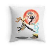Slam Dunk Ghost Buster Throw Pillow