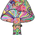Swirly Mushroom by Octavio Velazquez