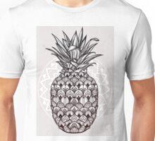 Boho ornamental pineapple fruit.  Unisex T-Shirt