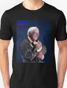 Bernie Sanders and His Cat Unisex T-Shirt