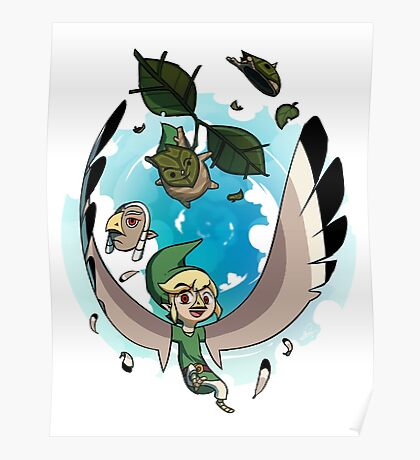 The Masks of Wind Waker Poster