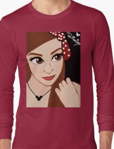 Red Bow Long Sleeve T-Shirt