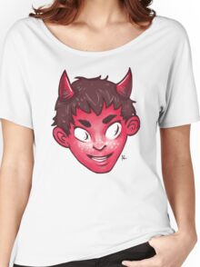 Devil Head Women's Relaxed Fit T-Shirt