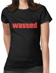 Wasted GTA Shirt Womens Fitted T-Shirt
