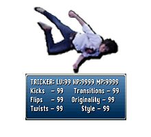 Tricking Stats - Pixel Dude version Photographic Print