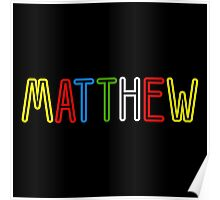 Matthew - Your Personalised Products Poster