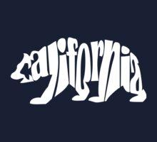 white california bear Kids Tee
