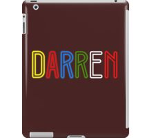 Darren - Your Personalised Products iPad Case/Skin