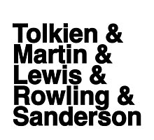 Best Fantasy Authors Photographic Print