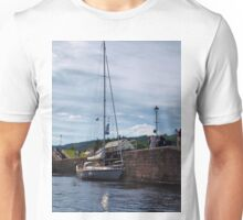 Boats at Fort Augusta (2) Unisex T-Shirt