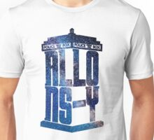 Allons-Y Galaxy Tardis (Tenth Doctor) Unisex T-Shirt