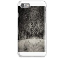 divided path  iPhone Case/Skin