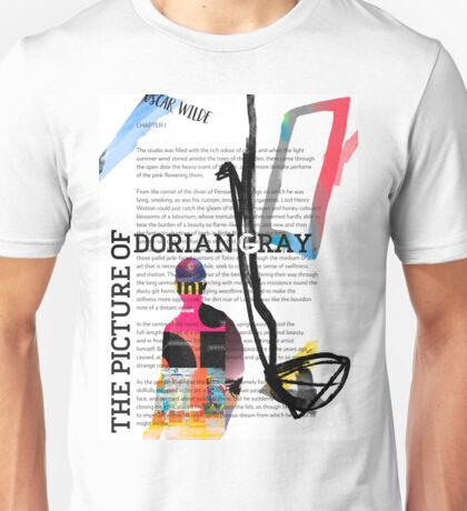 The Picture of Dorian Gray PSTR collage Unisex T-Shirt