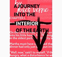 A JOURNEY INTO THE INTERIOR OF THE EARTH - poster Unisex T-Shirt