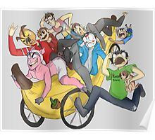Banana Bus Squad! Poster