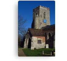 Porch & Tower, Kedington, Suffolk Canvas Print